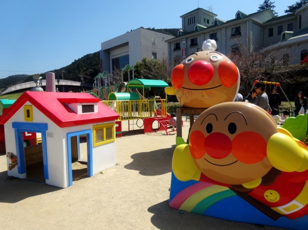 The Anpanman-themed playground