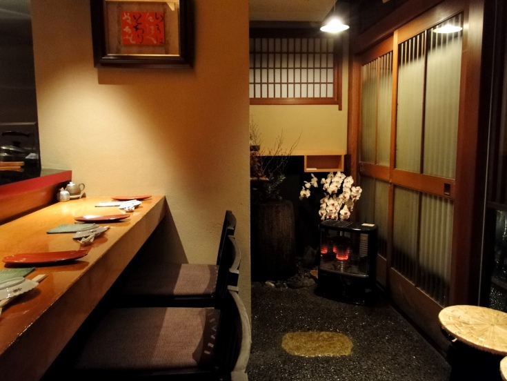 Most high-end sushi bars are very small. Reservations are highly recommended, if not essential