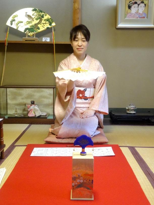 Kayako gives us a demonstration of her skills