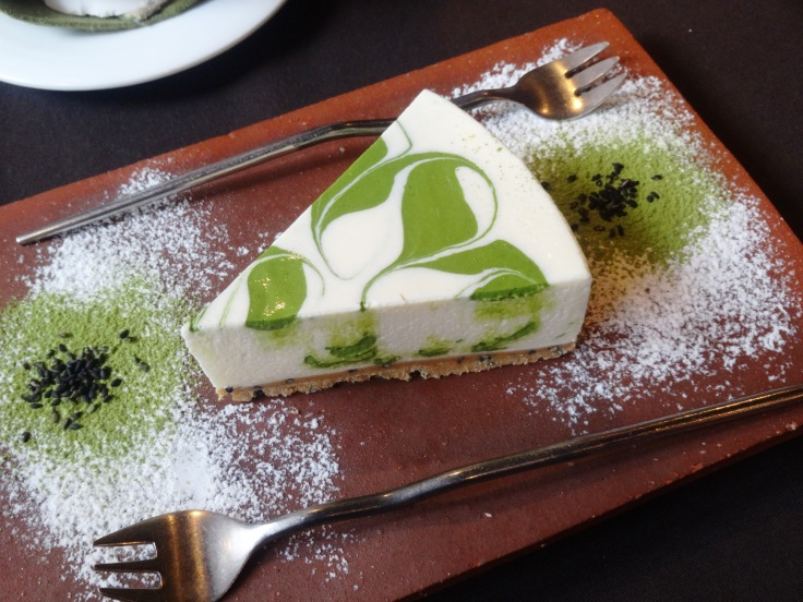 Best green tea cheesecake ever