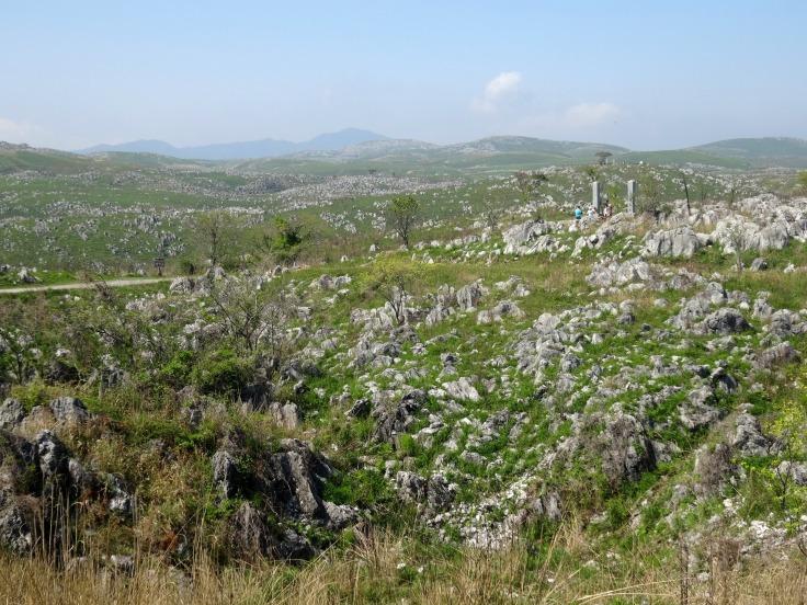 The limestone plateau of Akiyoshi-dai
