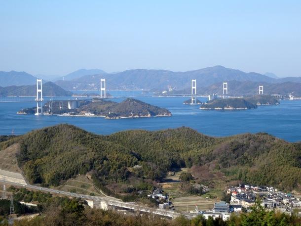 The bridges of the Shimanami Kaido