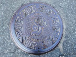 Manhole Monday: GinzanOnsen/Obanazawa