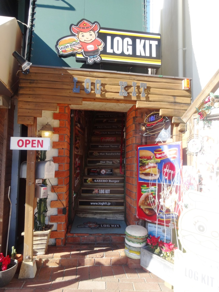 Exterior of Log Kit