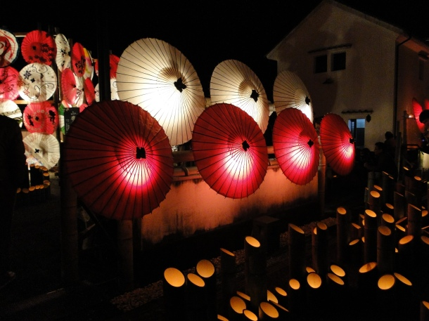 Yamaga's Winter Lantern Festival
