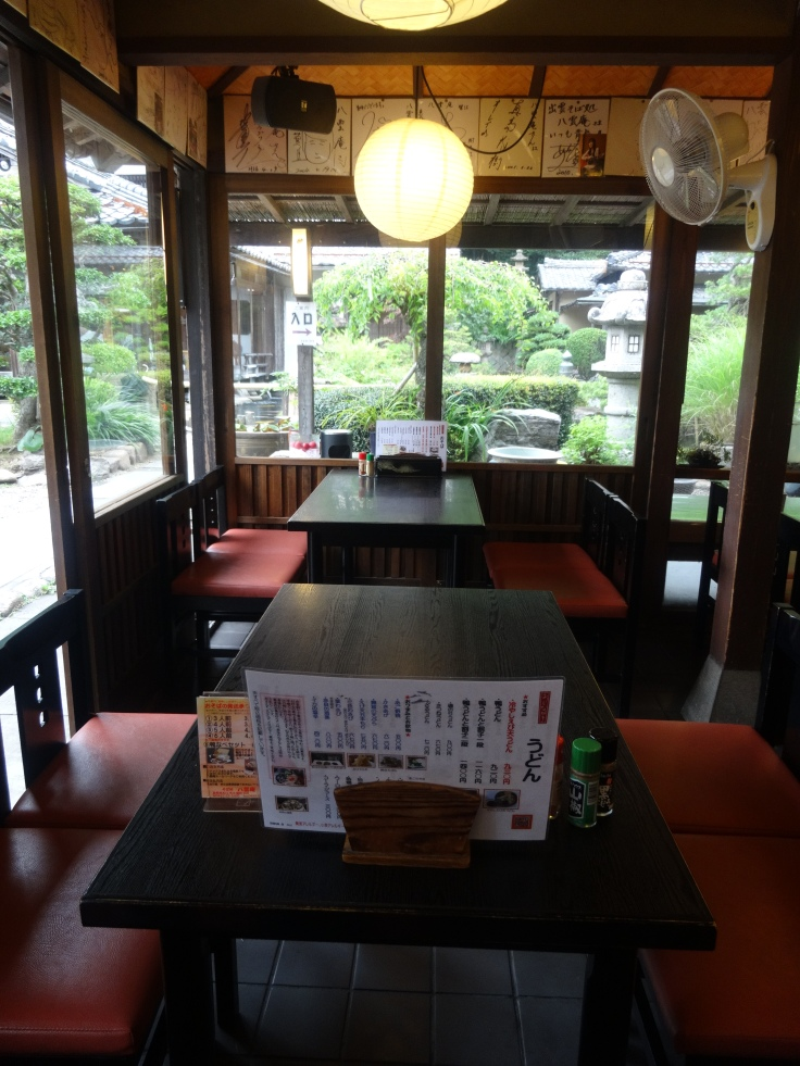 Cozy interior of Yakumo-an