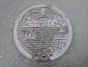 Manhole Monday: Shirahama