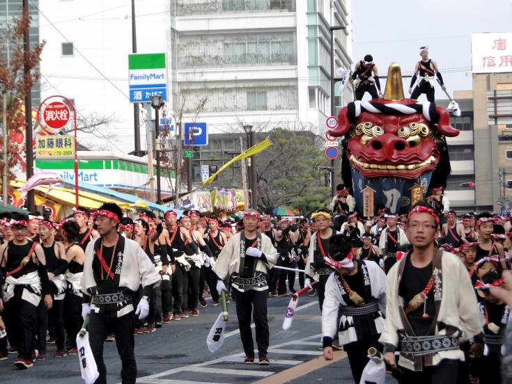 The final day of the Karatsu Kunchi