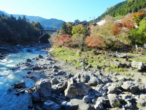 Family Fun: Walking the Mitake Riverside Trail