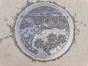 Manhole Monday: Agano