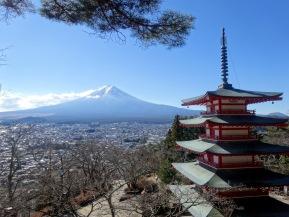 Spotlight: Chureito Pagoda(Fujiyoshida)