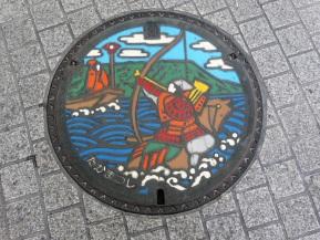 Manhole Monday: Takamatsu